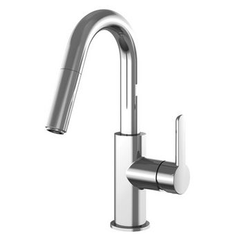 Julien Apex Prep Pull Down Bar Faucet, Polished Chrome