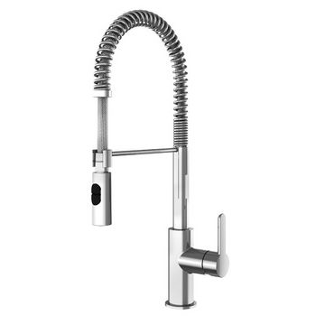 Julien Peak Professional Kitchen Faucet with Dual Spray, Polished Chrome