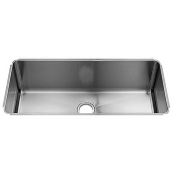 Julien Classic Collection Undermount Kitchen Sink with Single Bowl, 16 Gauge Stainless Steel