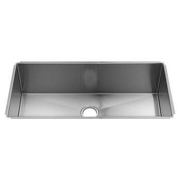 Julien J7 Collection Undermount Kitchen Sink with Single Bowl, 16 Gauge Stainless Steel