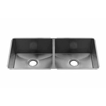 JULIEN J7 Collection Undermount Sink with Double Bowl, 16 Gauge Stainless Steel