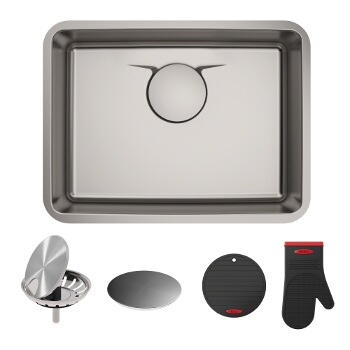 "25"" Sink w/ Included Items"