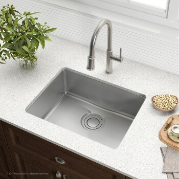 "25"" Sink Side View"