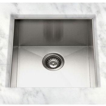 """Cantrio Koncepts S/Steel Kitchen Sink 19"""" W x 20"""" D x 9"""" H"""