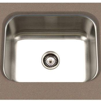 """Cantrio Koncepts S/Steel Kitchen Sink, 23-1/2"""" W x 17-3/4"""" D x 9"""" H"""