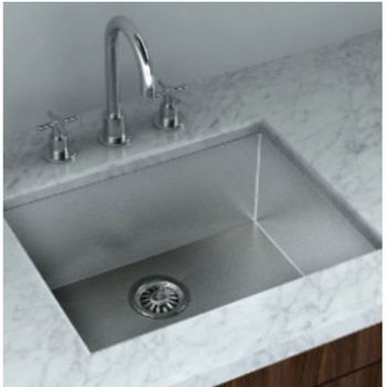 Cantrio Koncepts Stainless Steel Single Bowl Undermount Kitchen Sink