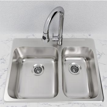 build cabinet around pedestal sink
