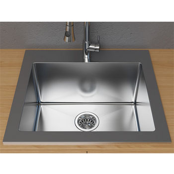 Drop-In Kitchen Sinks - Buy Drop-In Sinks in Stainless Steel Fire ...