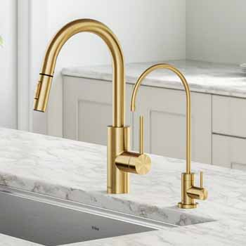 Kraus Brushed Brass Lifestyle