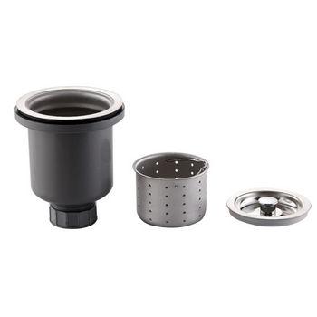 Kraus Stainless Steel Basket Strainer, Stainless Steel