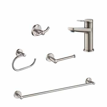 Spot-Free Stainless Steel Set