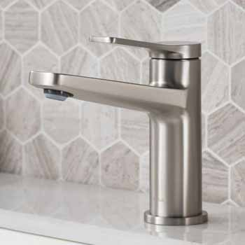 Spot-Free Stainless Steel Faucet