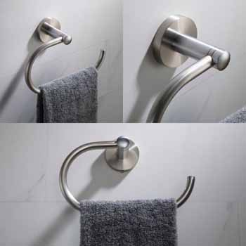 Spot-Free Stainless Steel - Towel Ring