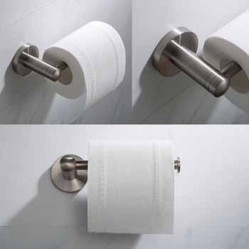 Brushed Nickel - Toilet Paper Holder