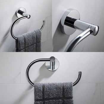 Chrome - Towel Ring