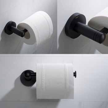 Matte Black - Toilet Paper Holder