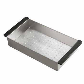 Kraus Stainless Steel Colander for Kitchen Sink