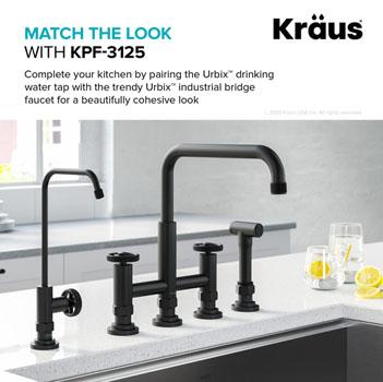 Matte Black Matching Faucet