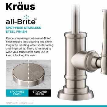 Spot Free Stainless Steel Finish
