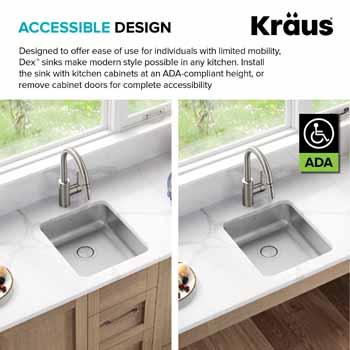 Kraus Dex Series Accessible Design
