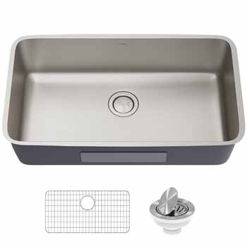 Kraus 33'' Single Bowl Sink Display View