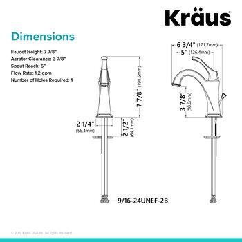 Brushed Gold - Single Faucet Side