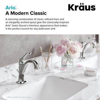 Chrome - Single Faucet Front