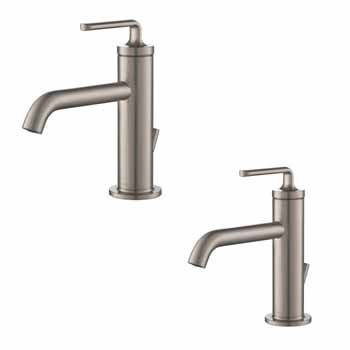 Spot-Free Stainless Steel Faucet (x2)