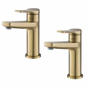Brushed Gold - Faucet (x2)