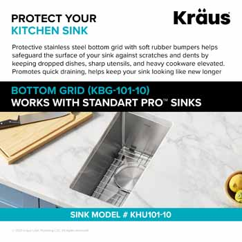 7-1/8'' W - Protect Your Kitchen Sink