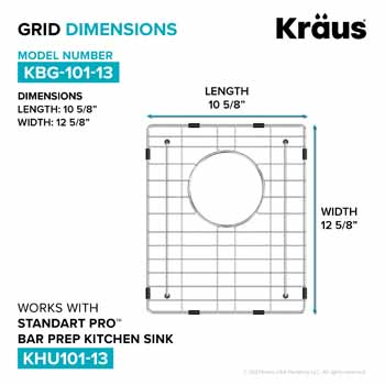 10-5/8'' W - Dimensions