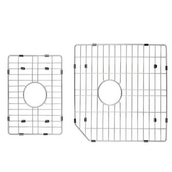 Kraus Stainless Steel Bottom Grid for Kitchen Sink, Stainless Steel
