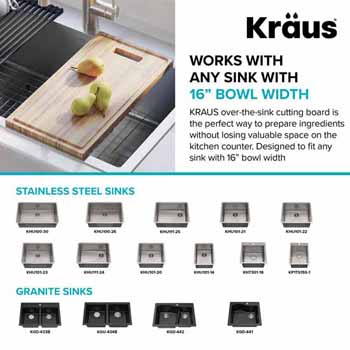 """Compatible Sinks for 17-1/2""""W"""