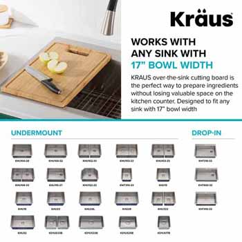 """Compatible Sinks for 18-1/2""""W"""