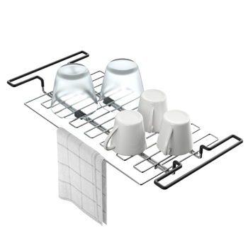 Stainless Steel Expandable Kitchen Sink Drying Rack-Display