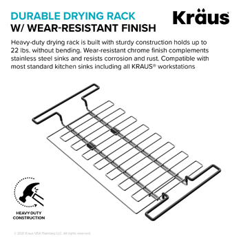 Stainless Steel Expandable Kitchen Sink Drying Rack-Durable/Wear Resistant