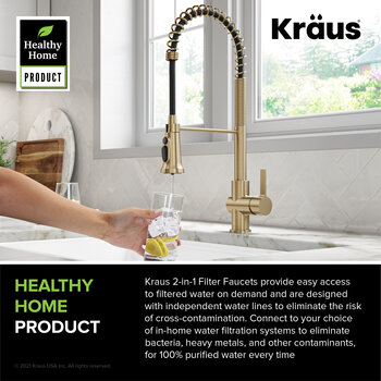 KRAUS Healthy Home Product Info