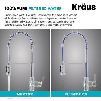 KRAUS Filtered Water Info