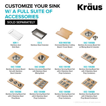 KRAUS Optional Accessories