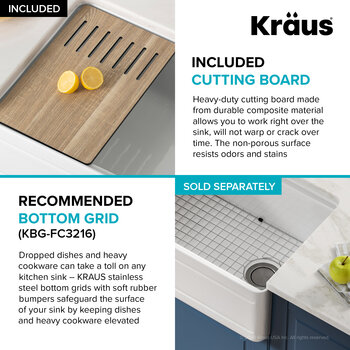 KRAUS Included Items Info