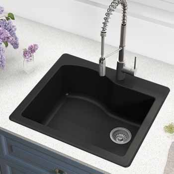 Kraus Black Sink Lifestyle View 2