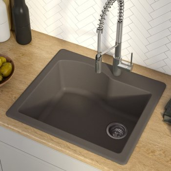 Kraus Brown Sink Lifestyle View 1