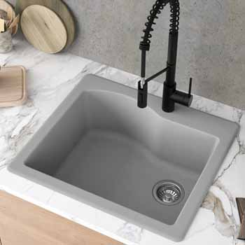 Kraus Grey Sink Lifestyle View 2