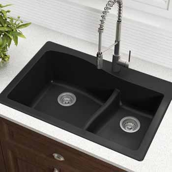 Kraus Black Sink Lifestyle View