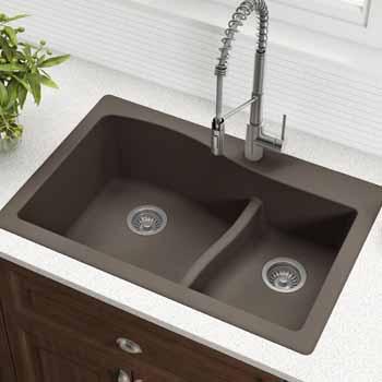 Kraus Brown Sink Lifestyle View