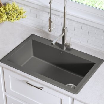 Grey Kitchen Sink Set