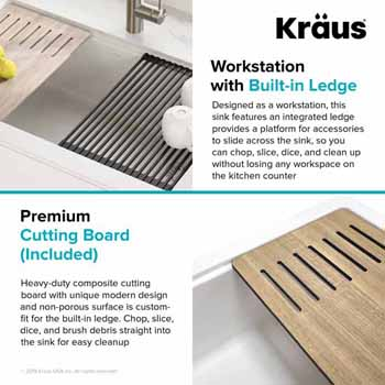 Included Cutting Board Info
