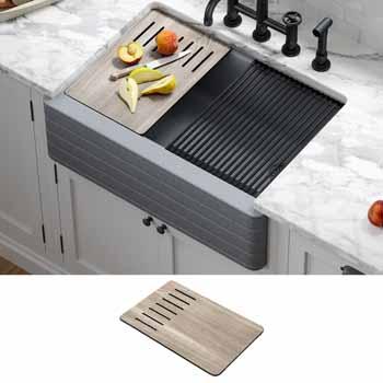 Metallic Gray - Lifestyle View + Cutting Board