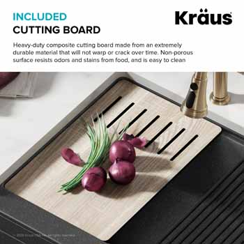 All Finishes - Included Cutting Board