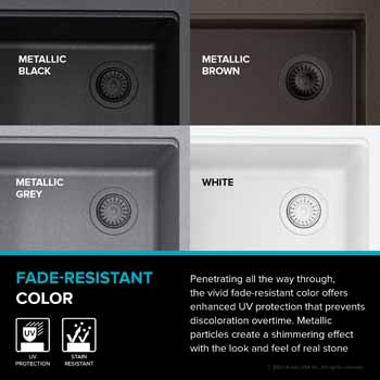 All Finishes - Fade-Resistant